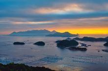 """霞浦滩涂之花竹 看日出拍日出必到的地点,我个人认为这里有着霞浦最漂亮的日出场景。花竹是观赏""""福瑶列岛"""