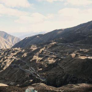 怒江72拐旅游景点攻略图