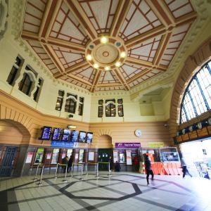 弗林德斯街火车站旅游景点攻略图