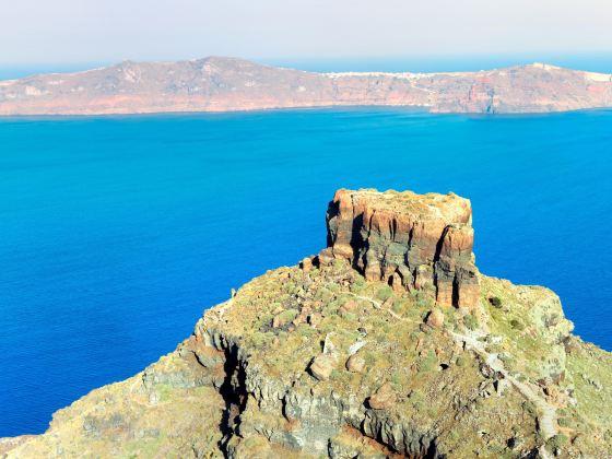 Skaros岩石