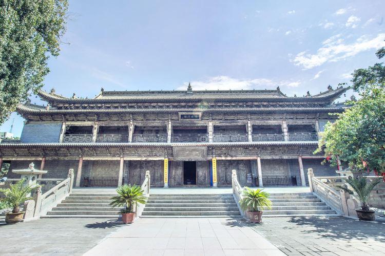 Zhangye Buddhist Temple