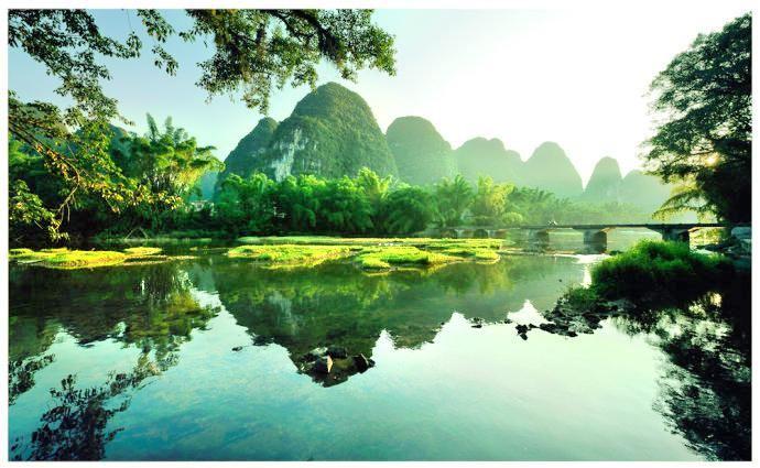 Luocheng Jianjiang Scenic Area