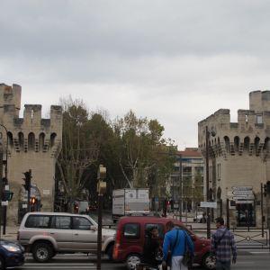 阿维尼翁城墙旅游景点攻略图