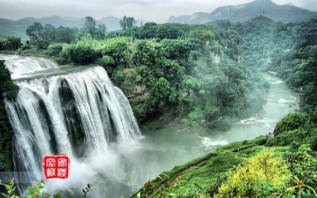 黄果树瀑布:一场石头与水花的交响乐