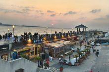 淡水漁人碼頭夕陽