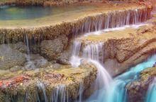 爱侣湾瀑布,北碧府,泰国