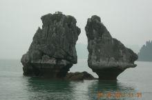 斗鸡石,下龙湾,越南