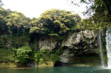 韩国 济州岛 天池潤瀑布