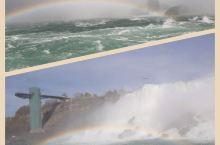 尼亚加拉大瀑布的彩虹