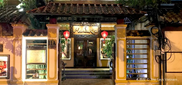 Mandarine Restaurant Saigon
