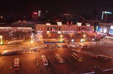 襄阳火车站夜景