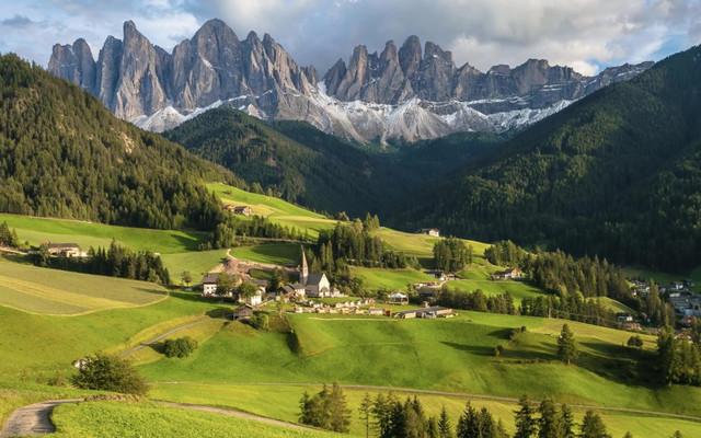 阿尔卑斯天堂的模样 意大利北部多洛米蒂摄影之旅