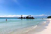 美丽的长滩岛