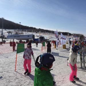 松花湖滑雪场旅游景点攻略图