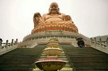 雪窦寺的弥勒佛