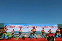 秀绿山也大果榛子基地第二届采摘节开幕式
