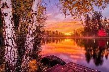 十月走彩林,赏秋要趁早,在秋叶被雨水打落前   金秋洒满俄勒冈