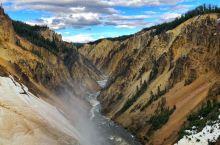 气势恢弘的美国黄石大峡谷