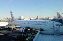 #瓜分10000元#在澳州乘坐维珍航空班机