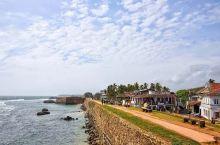 在加勒古堡,吹着南印度洋的海风