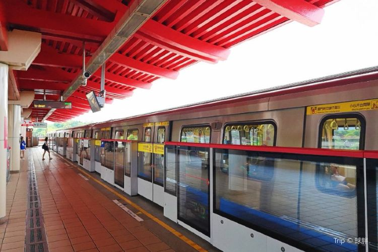 台北捷運淡水站1
