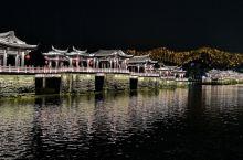 潮州广济桥 灯光秀