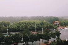 银川的大暴雨