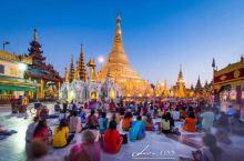 缅甸旅游必到之处——仰光大金塔