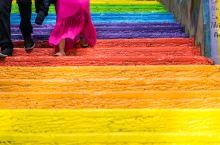 伊斯坦布尔必去打卡地 彩虹阶梯