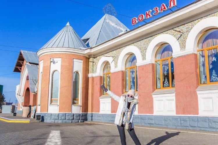 俄羅斯布拉戈維申斯克火車站1