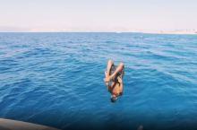 红海!约旦的富人区蔚蓝海风