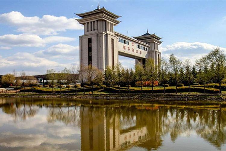 綏芬河國門2