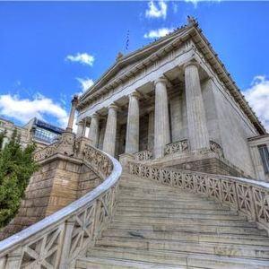 希腊国家图书馆旅游景点攻略图