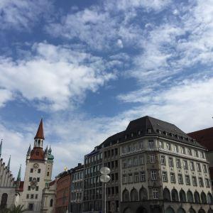 慕尼黑旧市政厅旅游景点攻略图