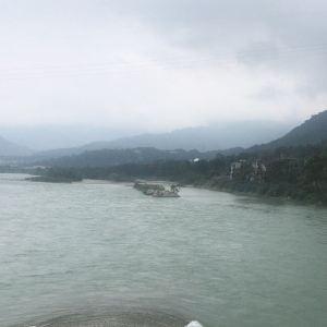 都江堰鱼嘴分水堤旅游景点攻略图