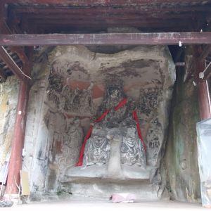 孔雀洞旅游景点攻略图