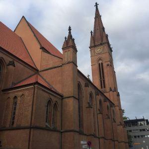 多特蒙德圣彼得教堂旅游景点攻略图