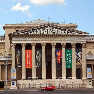 匈牙利国家美术馆旅游景点攻略图