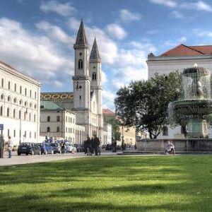 路德维希马克西米利安大学旅游景点攻略图