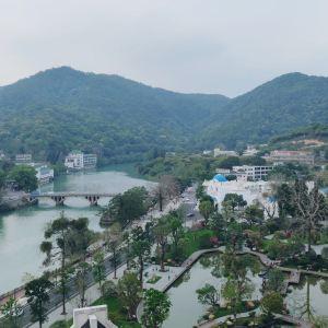 从化温泉风景区旅游景点攻略图