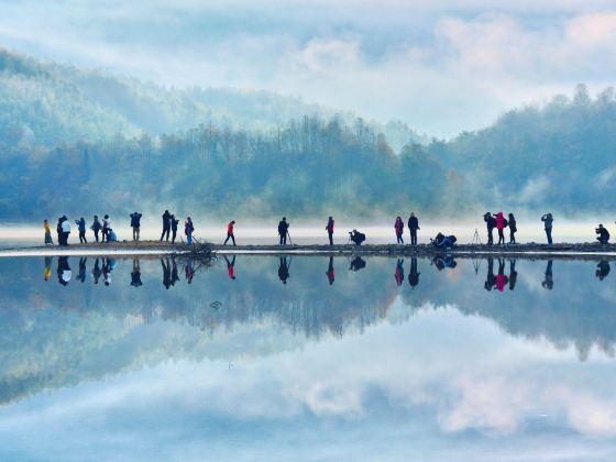 黃山黟縣奇墅湖