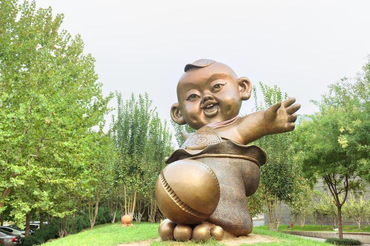 臨淄足球博物館1