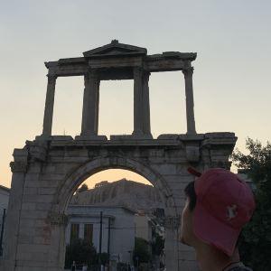 哈德良拱门旅游景点攻略图