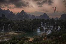 德天瀑布——跨国的风情#向往的生活