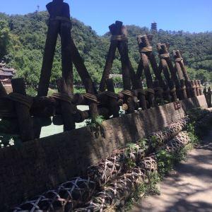 飞沙堰旅游景点攻略图
