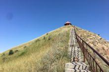 玛纳斯观音山:能看到雅丹地貌,360度的景不一样