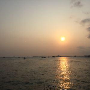 夜游三亚湾旅游景点攻略图