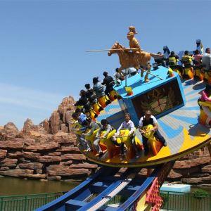 蓬莱欧乐堡水上世界旅游景点攻略图