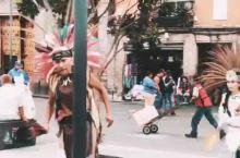 宪法广场的舞蹈