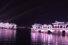 #嗨翻小长假#广济桥的夜景。